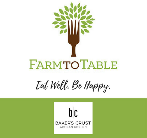 Baker's Crust Farm to Table ad