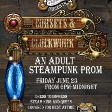 Steampunk Prom Poster 2