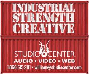 Studio Center Industrial Strength ad